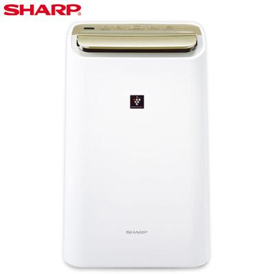 【SHARP夏普】10公升自動除菌離子HEPA清淨除濕機 DW-E10FT