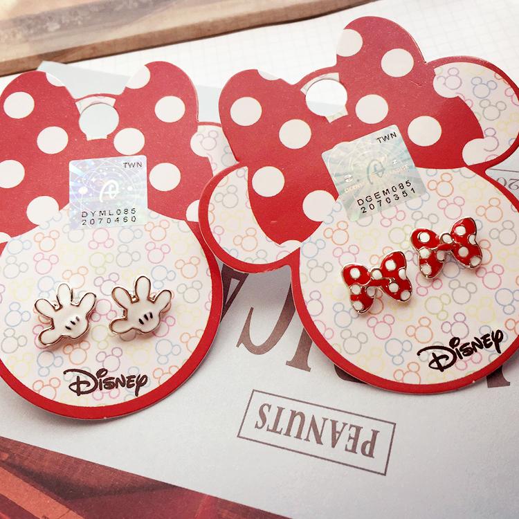 PGS7 日本迪士尼系列商品 - 迪士尼 造型 耳環 Disney 正版授權 米奇 米妮