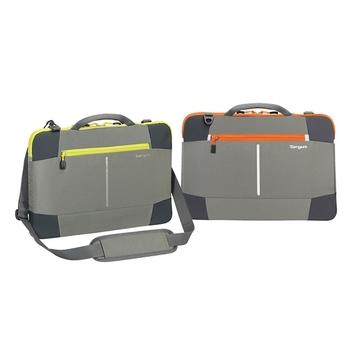 Targus Bex II 15.6吋 手提側背包 / TSS88608灰橘、TSS88609灰黃二色