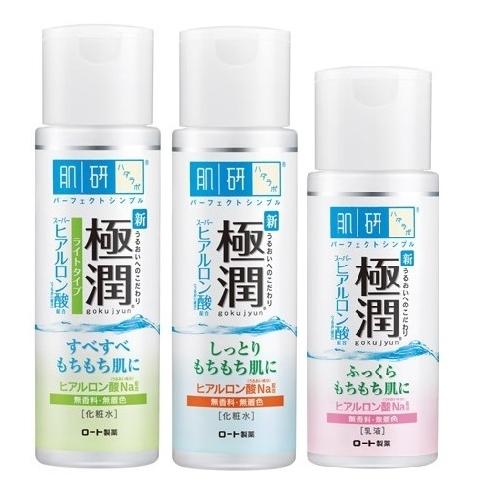 日本 ROHTO 肌研極潤胺基酸保濕系列化妝水/乳液