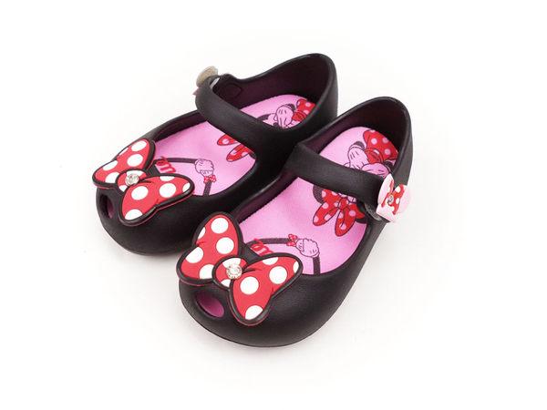 EMMA商城~兒童Disney迪士尼Q軟.輕量防水兩用.娃娃鞋台灣製童鞋黑色