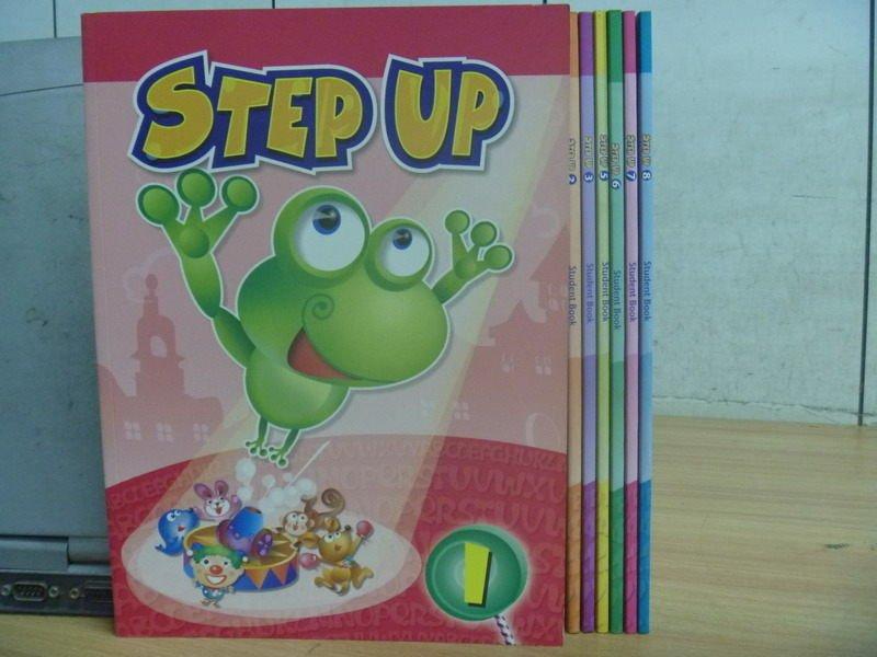【書寶二手書T7/語言學習_RIE】Step up_1~8期間缺4_7本合售