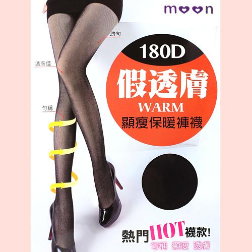【esoxshop】假透膚褲襪 顯瘦保暖 台灣製 moon