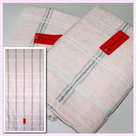 【esoxshop】╭*Roberta格紋印花浴巾(66x137cm)╭*居家必備精品《毛巾/澡巾/浴巾/BT》