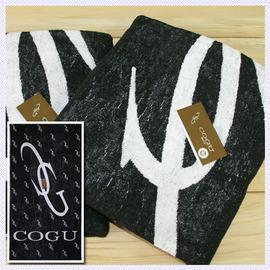 【esoxshop】╭*COGU高級印花浴巾(74x140cm)╭*居家必備良品《毛巾/澡巾/浴巾》