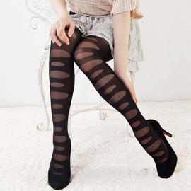 【esoxshop】╭*時尚美體破洞造型褲襪╭*美麗誘惑款《絲襪/褲襪褲/造型襪》