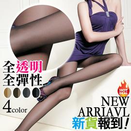 【esoxshop】╭*夏莉娜 全透明全彈性高透氣褲襪╭*4色《絲襪/造型襪/透膚》