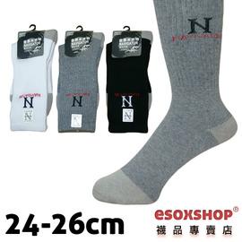 【esoxshop】╭*NAVIGATOR 3/4竹炭毛巾底運動襪╭*《竹炭襪/休閒襪/氣墊襪》