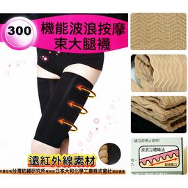 【esoxshop】╭*isox 機能波浪按摩束大腿襪╭*完美曲線╭*300D《美腿襪/瘦腿襪/纖體/美體/雕塑》