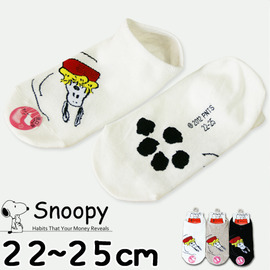 【esoxshop】╭*Snoopy 旋轉史奴比低口少女襪 / 正版授權《造型襪/直版襪/低口襪/短襪/船形襪》