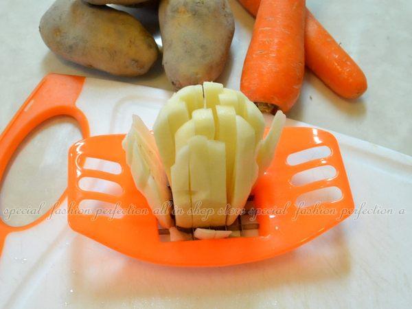 馬鈴薯切條器 作切薯條器 馬鈴薯快速 切丁器 切薯條器(不挑色)【GE320】◎123便利屋◎