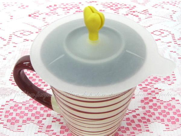 可愛愛心神奇杯蓋 創意杯蓋 愛心杯蓋【DQ360】◎123便利屋◎