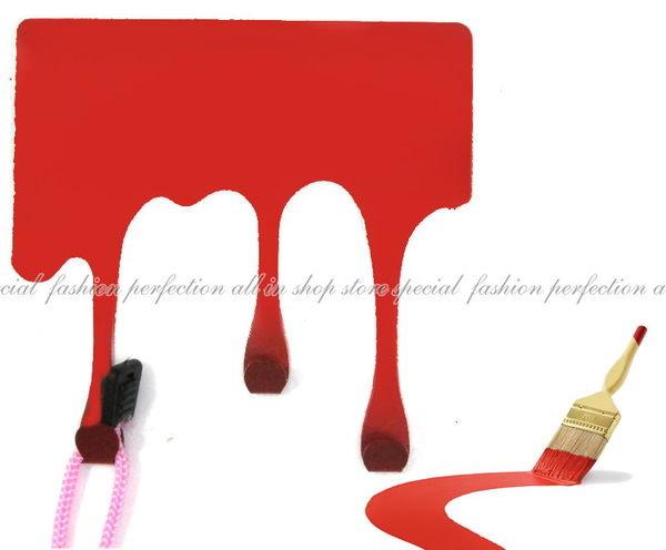◎123便利屋◎【GN240】創意KUSO 仿真油漆快滴落趣味萬用掛鉤 油漆造型掛勾