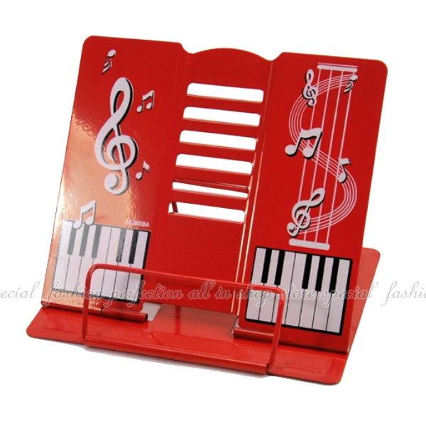 鐵製 巧克力熊 鋼琴鍵盤 看書架 卡通兒童讀書架(不挑款)【DB190】◎123便利屋◎