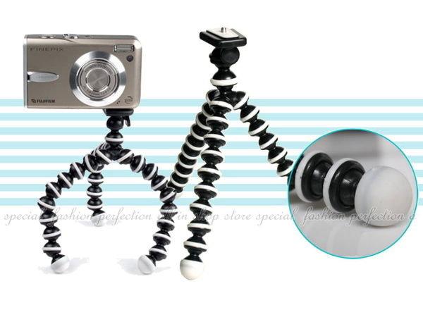 相機三腳架-小16cm多功能猩猩腳架 異型三腳架 章魚百變雲台 自拍【DD450】◎123便利屋◎