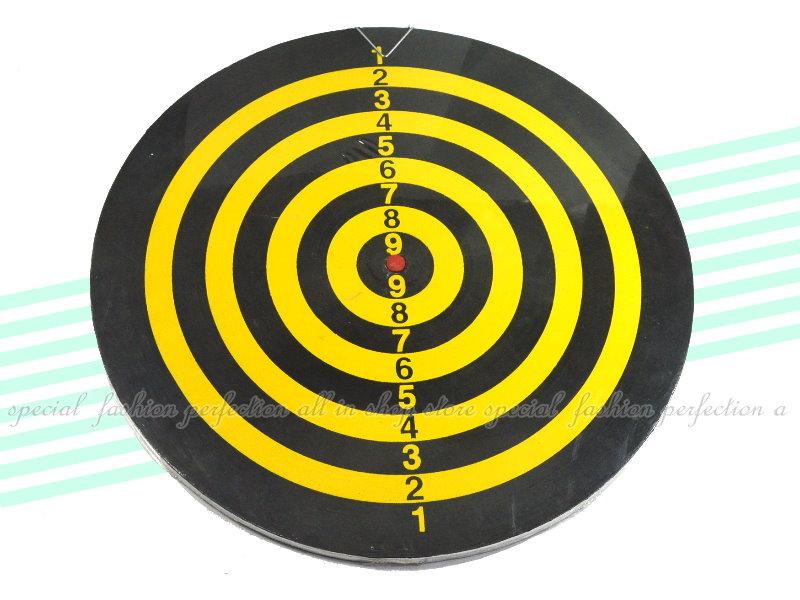 15吋木製飛鏢盤 飛標靶 雙面標靶 吊掛式箭靶 打靶 ~台灣製造【DG445】◎123便利屋◎