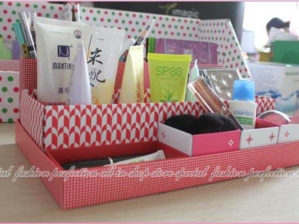 韓版box in Box DIY多功能七格盒中盒收納盒/7分格化妝品文具收納盒【DL378】◎123便利屋◎