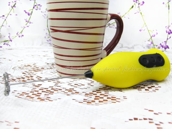 不鏽鋼打蛋器 電動攪拌器 咖啡打泡器 打奶泡【DM116】◎123便利屋◎