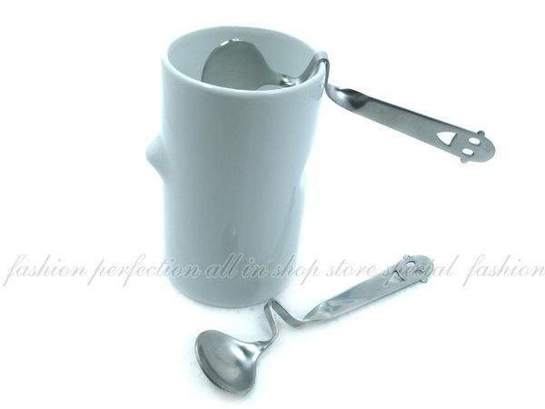 韓版創意餐具~開心男孩彎曲湯匙/咖啡勺 攪拌器【DN206】◎123便利屋◎