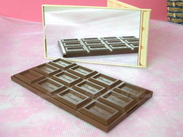 明治Meiji 巧克力 12格巧克力 逼真鏡子 15.5 x 8公分【DP218】◎123便利屋◎