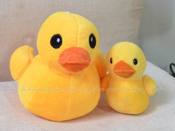 黃色小鴨-小4吋 黃色小鴨吸盤吊飾 絨毛 鴨子玩偶【DG395A】◎123便利屋◎