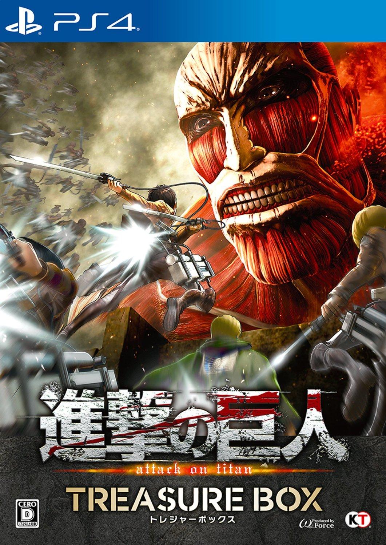 現貨供應中  亞洲中文版 含特典擦拭布+下載卡   [限制級] PS4 進擊的巨人 寶箱版