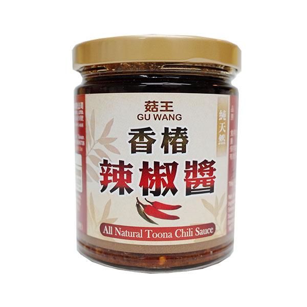 菇王 純天然香椿辣椒醬 240g 【美十樂藥妝保健】