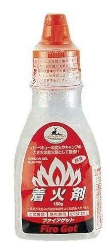 【鄉野情戶外專業】 CAPTAIN STAG |日本|  鹿牌 著火劑 180g _M-7499
