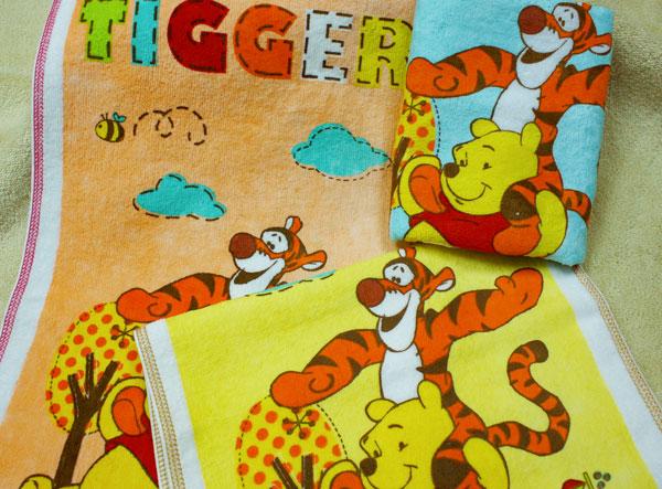 【Disney迪士尼-HPW333】維尼與跳跳虎洗臉巾 1入