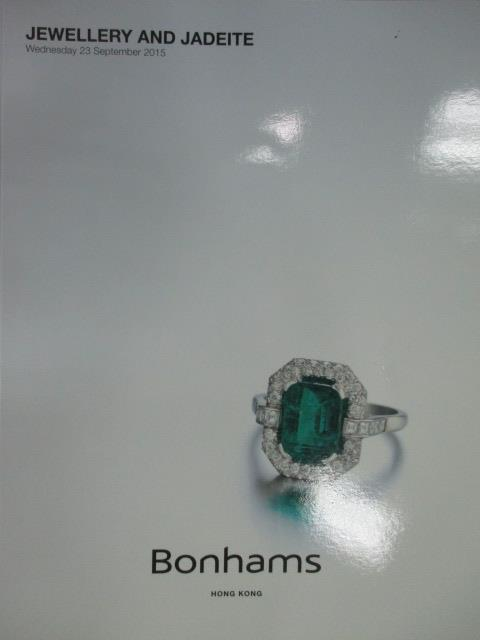 【書寶二手書T2/收藏_WFN】Bonhams_2015/9/23_Jewellery and Jadeite