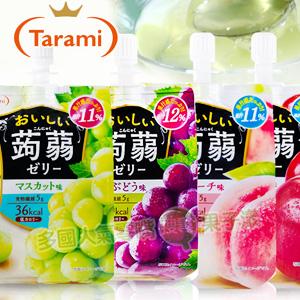 日本 Tarami 吸吸蒟蒻果凍/ 低卡零嘴 [JP472]