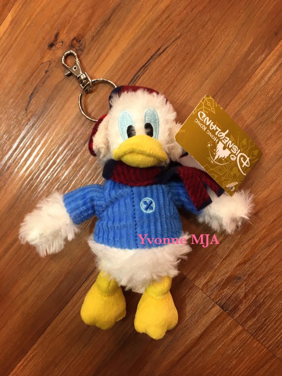 *Yvonne MJA香港代購*香港迪士尼海洋樂園限定正品2017新款冬季圍巾吊飾 現貨實拍