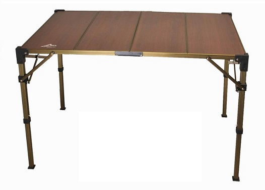 Go Sport 台灣   高低可調複合板摺疊桌(4片)   秀山莊(ZC96023)