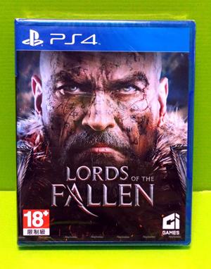 (現金價)  全新現貨 PS4 墮落之王 英文版 Lords of the Fallen