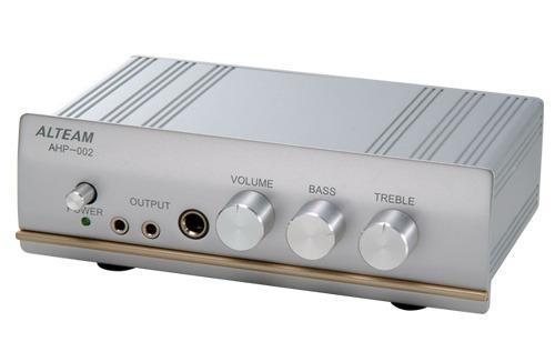 志達電子 AHP002 亞立田 ALTEAM AHP-002 耳機擴大機 三耳機輸出 高.低音調整!