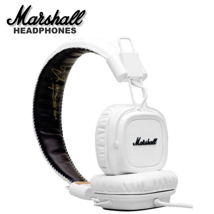 【非凡樂器】『Marshall Major 耳罩式 耳機』有線控 公司貨保固 時尚白
