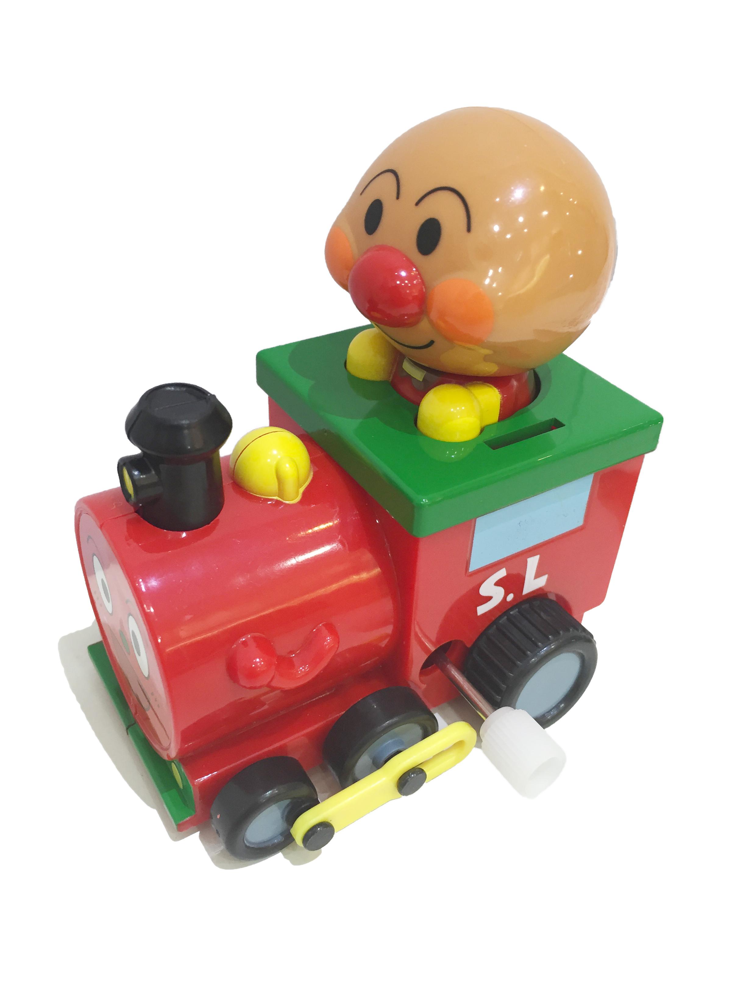 麵包超人 Anpanman 小汽車 發條車 火車 玩具 正版日本進口 * JustGirl *