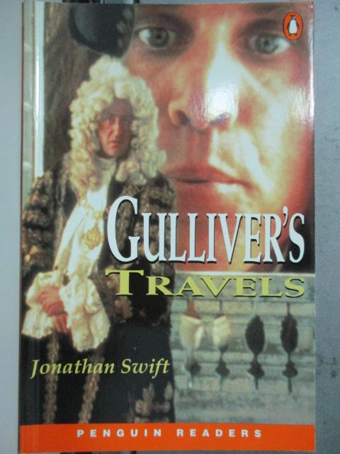 【書寶二手書T1/原文小說_JPT】Penguin Readers Level 2: Gullivers Travels_Jonathan Swift