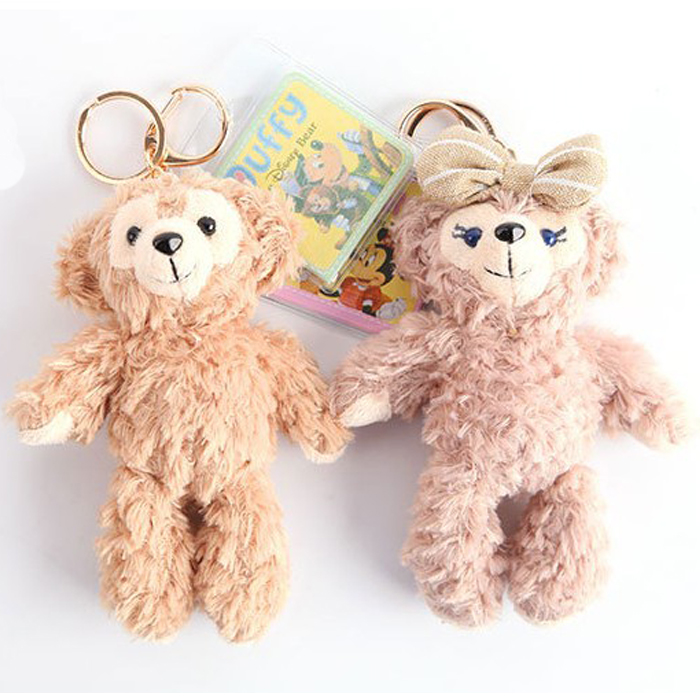 tangyizi輕鬆購【DS019】日本東京迪士尼 Duffy達菲熊 ShellieMay雪莉玫吊飾鑰匙扣毛絨娃娃公仔(預購款10天)