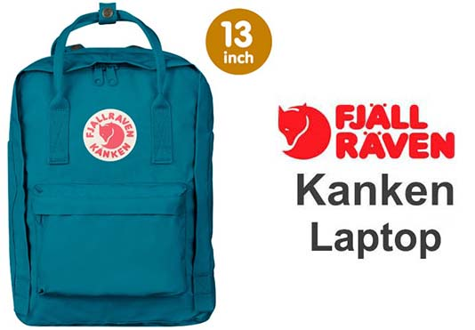 瑞典 FJALLRAVEN KANKEN laptop 13inch 539湖水藍 小狐狸包