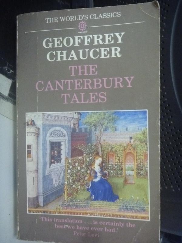 【書寶二手書T9/原文小說_HSO】The Canterbury Tales_Chaucer