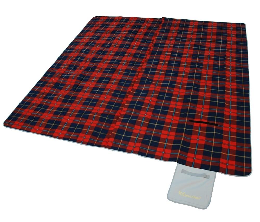露營睡墊/地墊/防潮野餐墊300 100mountain 蘇格蘭紅 MT-PAD300R