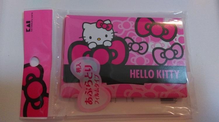 日本貝印~KITTY 吸油薄膜(30張)