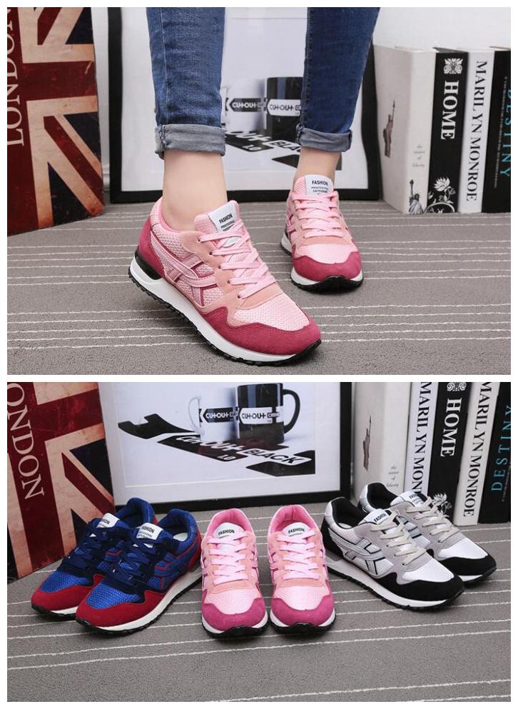厚底學生鞋跑步運動鞋