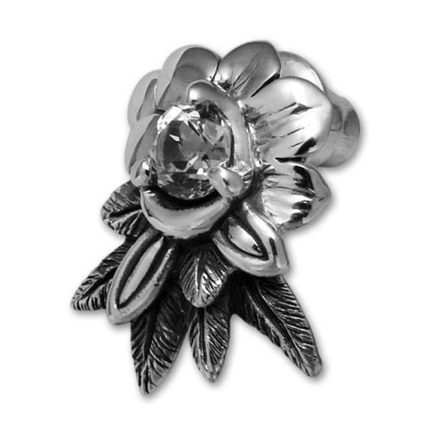 【海外訂購】【Bloody Mary】Abalone 鏡面魚托帕石耳環 (BME0470-Wt  0234100000)