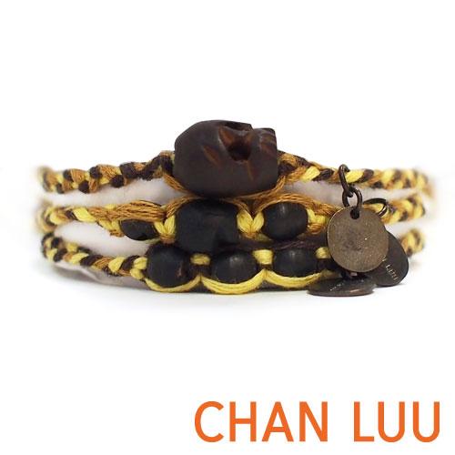 【現貨商品】【CHAN LUU】民族風骷髏奶油黃棉線手鍊(CL-TH-BRC-5767Batter Cup Combo 06281200MW)