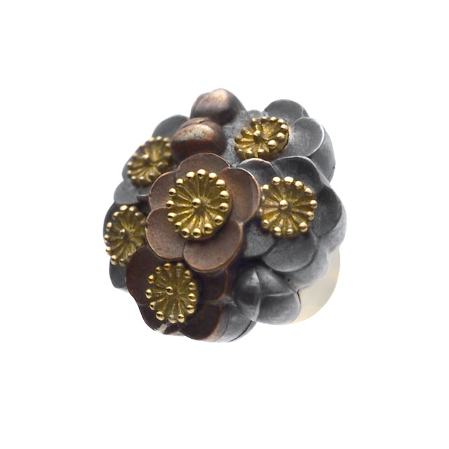 【海外訂購】【GLENN】梅花簇擁純銀耳環(GL-0092)