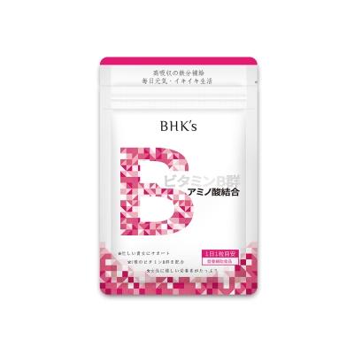 【小資屋】BHK's璨研維他命B群+鐵 錠狀食品鋁袋裝(30顆入)