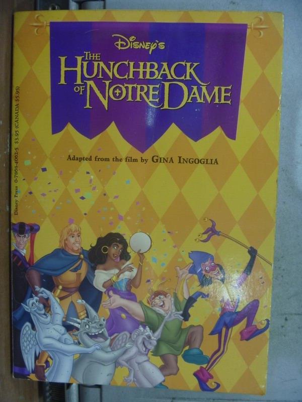 【書寶二手書T1/原文小說_ODW】The Hunchback of Notre Dame_迪士尼