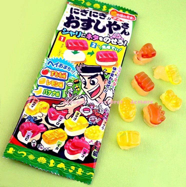 有樂町進口食品 日本知育果子 明治壽司達人軟糖 22g 45173561